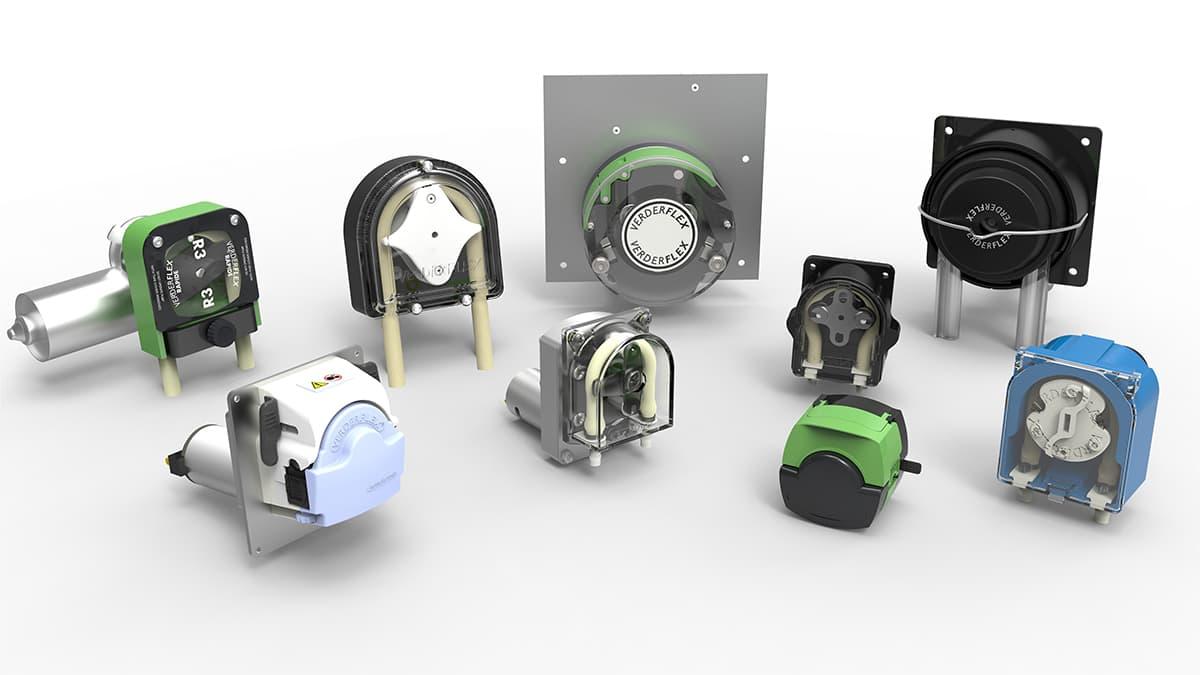 The Verderflex Peristaltic OEM Pumps Family (c) The Verder Group