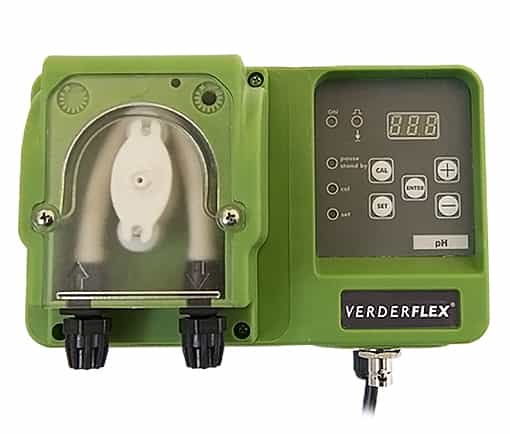 Verderflex VP2 RX - Digital, Proportional Peristaltic Pump with built-in Redox Controller